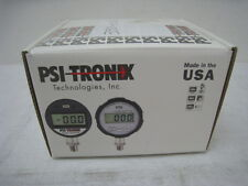 New Psitronix Amat 3310 01240 Precision Digital Pressure Gauge Recal For 50psi