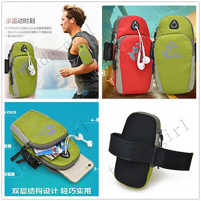 Fashion Armband Running Gym Jogging Sports Hand Pouch Sleeve Bag Case For Phones