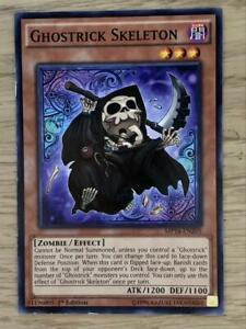 Yugioh NM 1st Edition LVAL-EN024 Common Ghostrick Skeleton X3