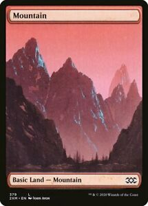 John Avon Double Masters 2XM 4x Full Art Forest Magic MTG 381