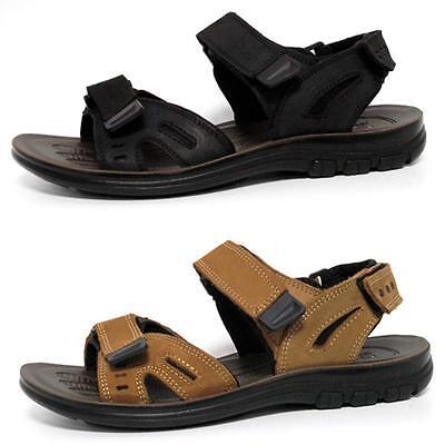 Aus Dem Ausland Importiert Mens Leather Strap Walking Summer Beach Mules Gladiator Sandals Shoe Size Dinge FüR Die Menschen Bequem Machen
