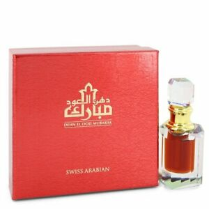Dehn El Ood  Dehnal oud Oudh Mubarak 6ml  Quality Oil by Swiss Arabian original