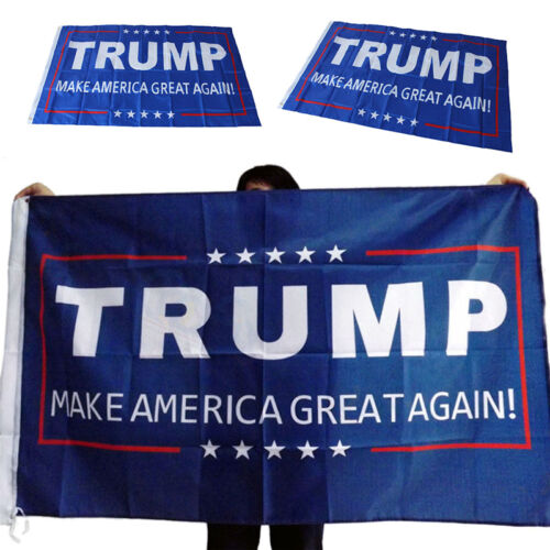 Donald J Trump 3x5 Foot Flag Make America Great Again for President Hf