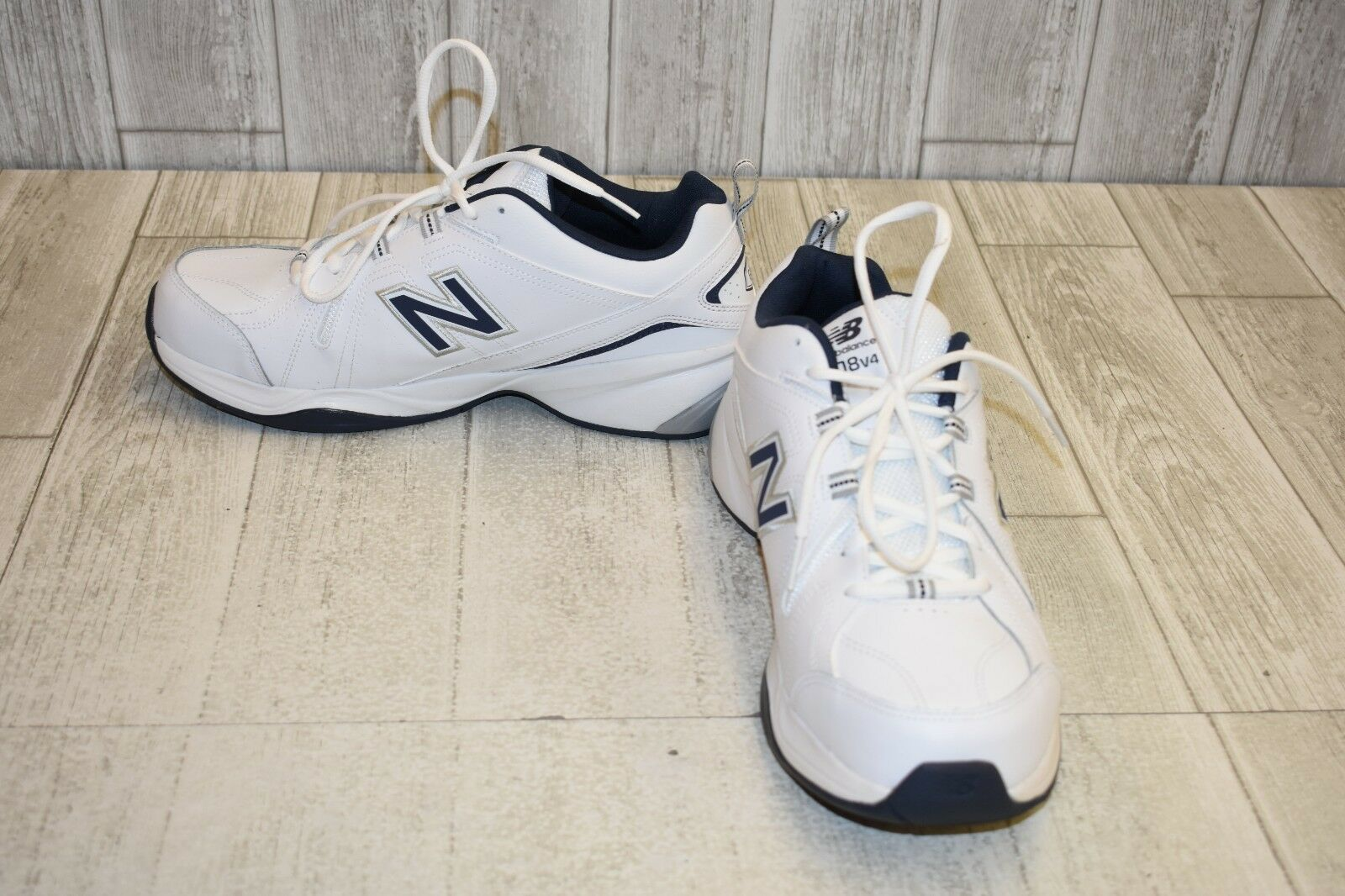 New Balance 608v8 Training shoes - Men's Size 12 4E - White Navy