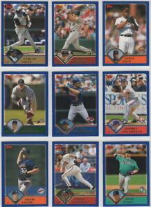 2003-Topps-Baseball-Team-Sets-Pick-Your-Team