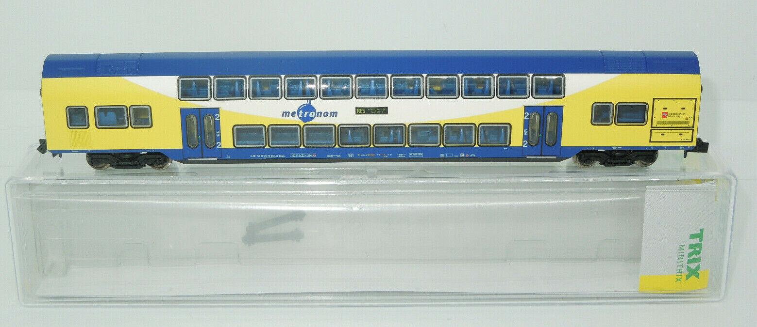 Minitrix Spur N 15947 Doppelstockwagen Metronom (Lo)