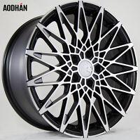 18x8 18x9 +30 Aodhan Ls001 5x100 Machined Wheel Fits Dodge Neon Srt4 Audi Tt on Sale