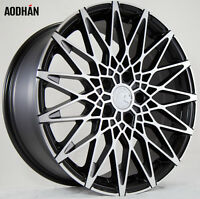 18x8 18x9 +30 Aodhan Ls001 5x100 Machined Wheel Fits Dodge Neon Srt4 Audi Tt on Sale
