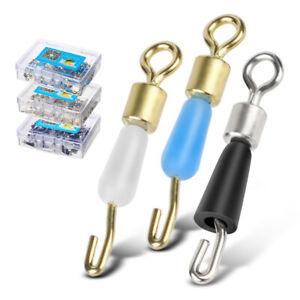 con forma de Q para colgar de cambio r/ápido accesorios de aparejos con terminal Gancho giratorio para pesca