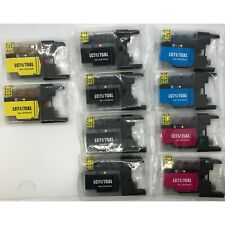 Generic AIM Compatible Replacement for Brother LC-2038BK4CMY Inkjet Combo Pack 8-BK//4-C//M//Y