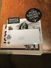 The Beatles  Apple Corps. David Peel Smokes Dope +  Promo Items Intact &Rare