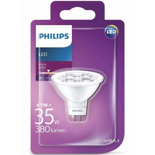 1 of 1 - Philips GU5.3 12V LED MR16 Bulb 4.7W eq 35 Watt Warm White 380lm 2700K  15,000h