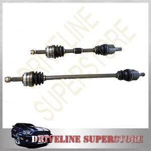 Chrysler-Grand-Voyager-two-BRAND-NEW-CV-JOINT-DRIVE-SHAFTS-year-1997-2007-2WD