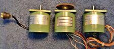 Lot Of 3 Sigma Instruments Inc 20 2223d 23170 Stepper Motor 14 Shaft