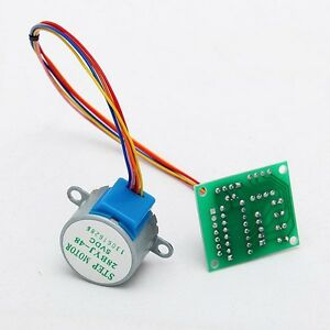 5v mini stepper motor 28byj 48 drive simple test board for Very small stepper motor