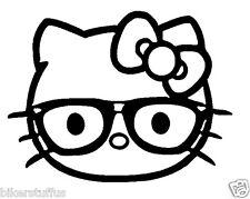 HELLO KITTY NERD STICKER