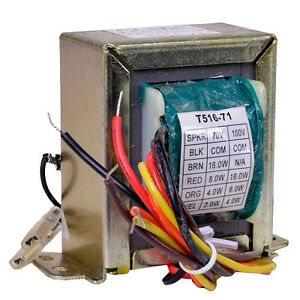 practical transformer wiring diagram new 70 volt line speaker distribution transformer altec ...