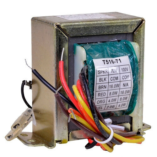 NEW 70 volt line speaker distribution Transformer   Altec Lansing T516-71 16Watt