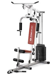 Home Gym CORSPORT Palestra stazione multifunzione fitness pesi dischi vinile