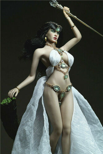 1//6 Goddess Dress Clothes Accessories F12inch Phicen Big Bust Female Body Toy