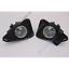 ABS Bezel Clear Fog Lights Lamp Kit Switch/&Harness O For Toyota RAV4 2016-2018