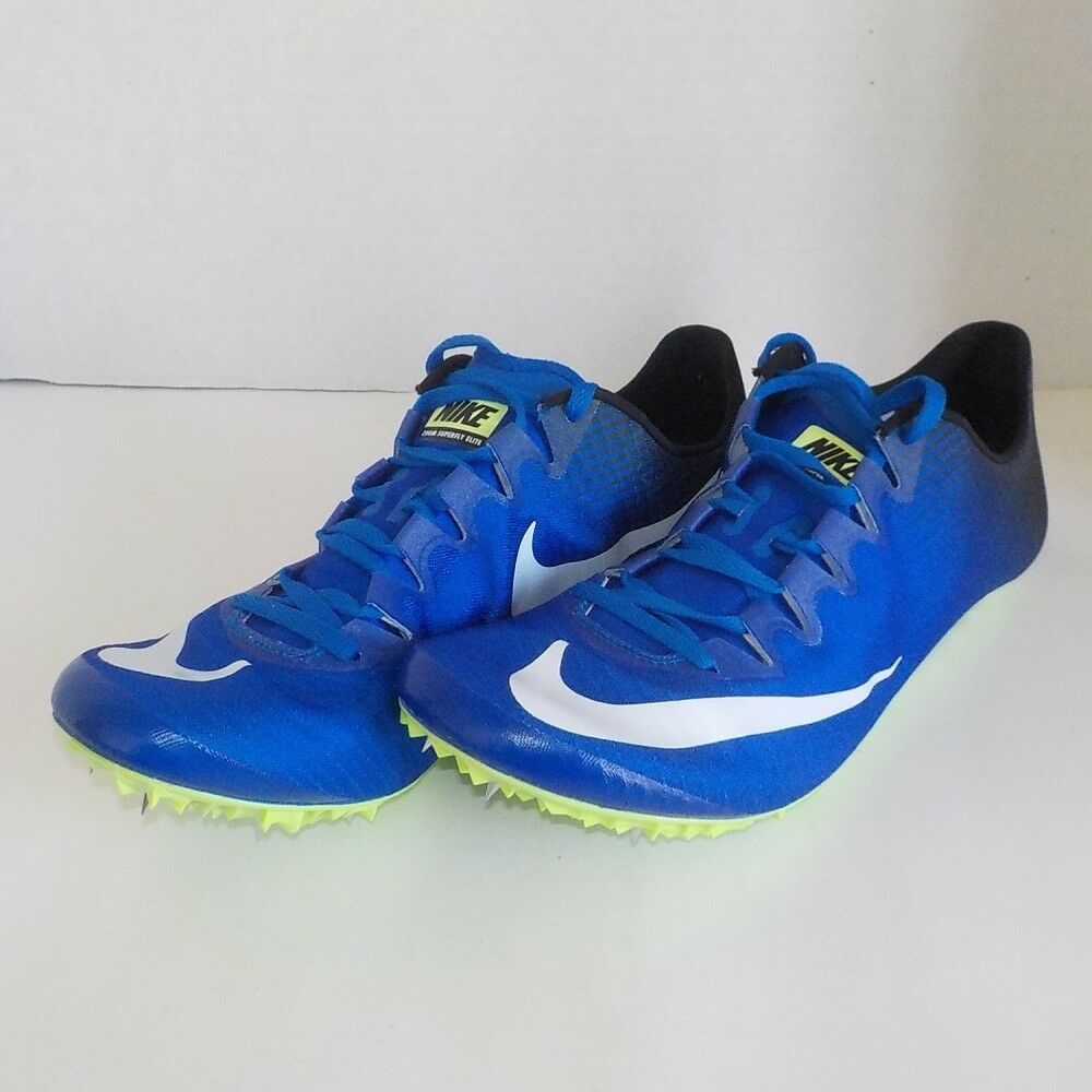 Nike SUPERFLY ELITE Sprint Running BLACK BLUE 835996 413 MEN SIZE 6 = WOMAN 7.5