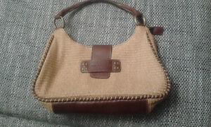 Handtasche-Matias-Salva-Materialmix-Leder-und-Naturfaser