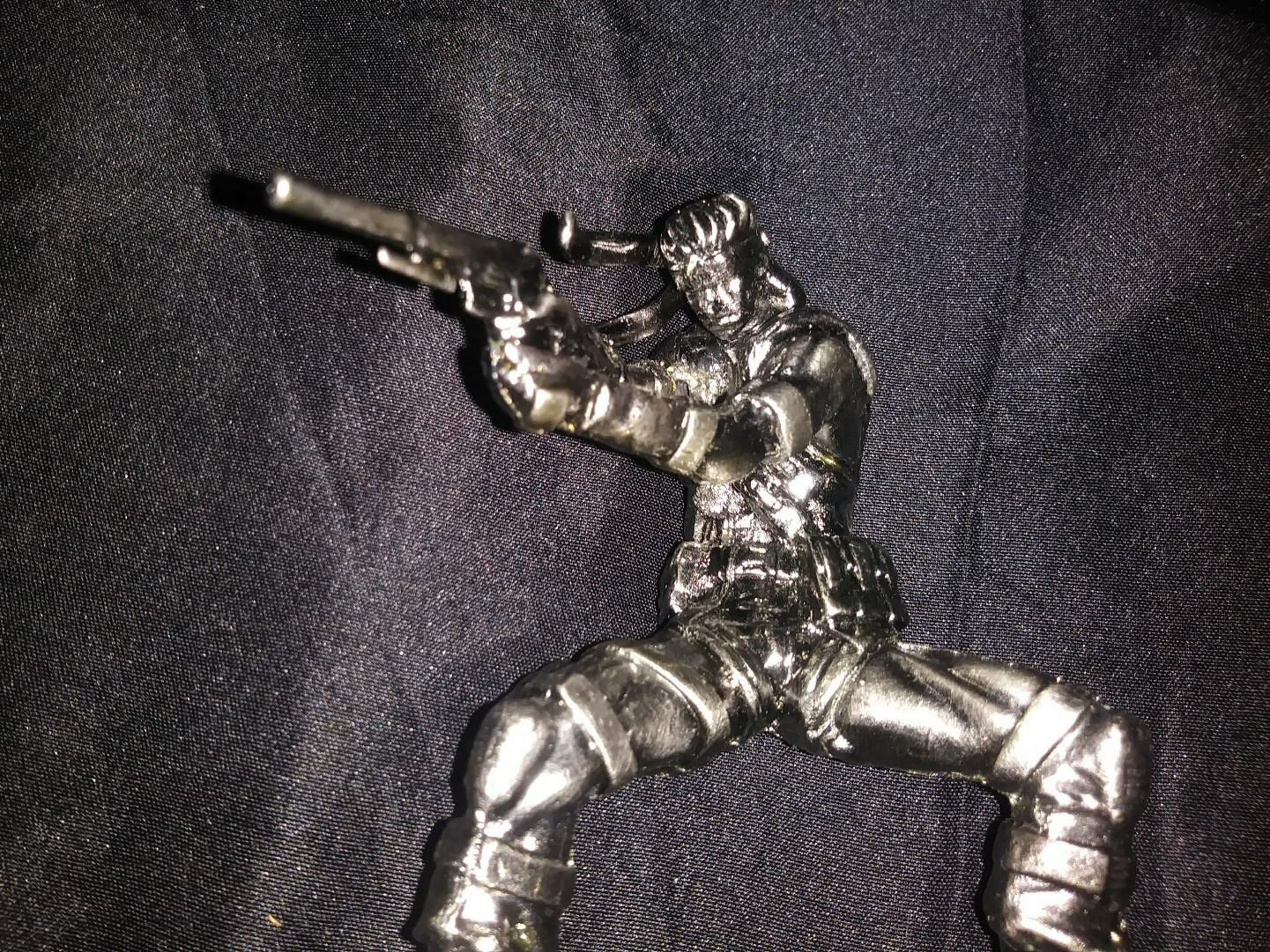 METAL GEAR SOLID 2 SONS OF LIBERTY SOLID SNAKE SNAKE SNAKE FIGURE STATUE YAMATO 6814b5