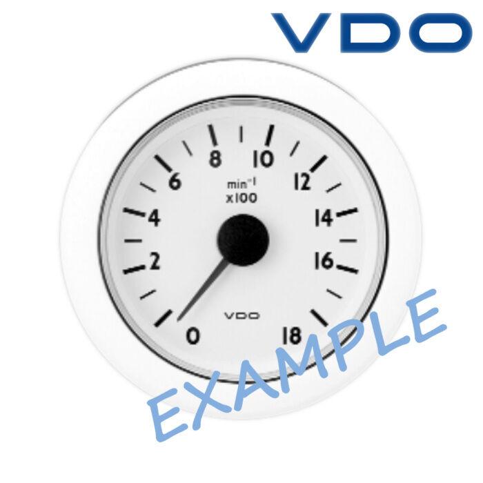 VDO Ocean Line Drehzahlmesser Anzeige Stiefel 52mm 2