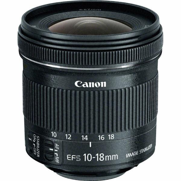 Agressif Canon Ef-s 10-18 Mm F/4.5-5.6 Is Stm Lentille * Coffret * Uk Large SéLection;