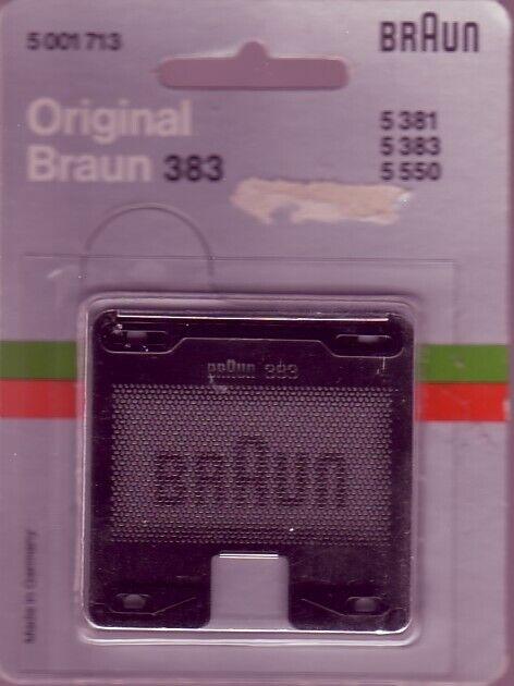 neue Scherfolie 383 für Braun Sixtant 8008