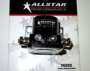 Details about AllStar Racing Starter Solenoid HD Ford Style Remote Black  Flat Mounting Base