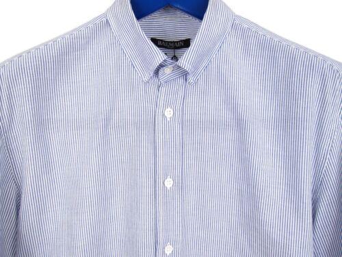 a Ss14 vestir rayas de Xs luz 37 de Sz Camisa Balmain n67Bfx