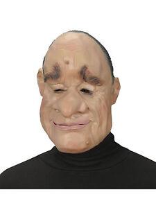 Latex Maske Ralph Karneval Lustiger Mann Fasching Ebay