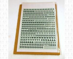 Virnex-HO-Decals-Emerald-Green-1-4-Inches-Bold-Gothic-Letter-Set-2048-Alphabet