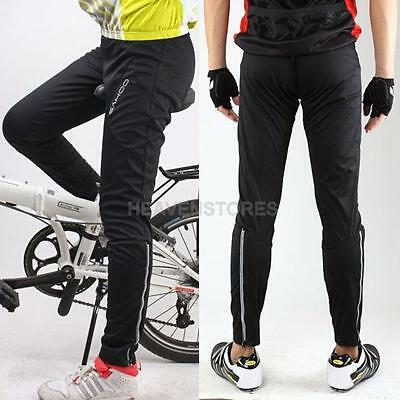 Men Women Thermal Cycling Waterproof Long Pants Bike/Bicycle Windproof Trousers