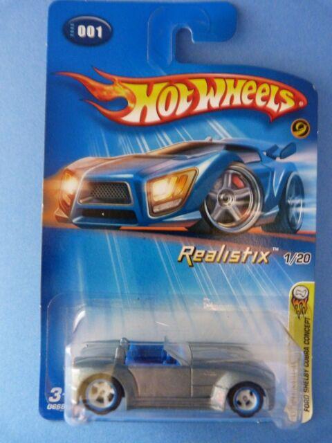 1:64 - Hot Wheels Ford Shelby Cobra concept 2005 N°001 - Realistix n° 1/20