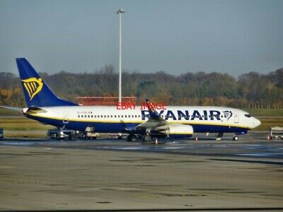 Photo Boeing 737-800 (8as) Ei-fos Of Ryanair At Stansted Airport (5)