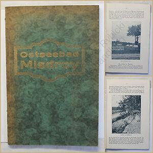 Orig-Prospekt-Ostseebad-Misdroy-um-1925-Ortskunde-Seebad-Kurort-Landeskunde-xy