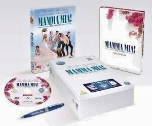 Mamma Mia-The Movie w/Journal & Pen-Gift Set-DVD-Universal-PG-Cinema-Musical-PAL
