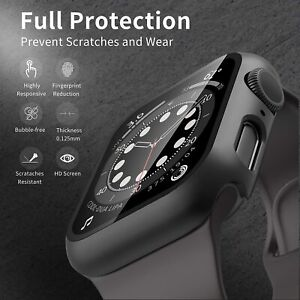 For-iWatch-Apple-Watch-Series-SE-6-5-4-3-40-44mm-Full-Glass-Film-Hard-Cover-Case