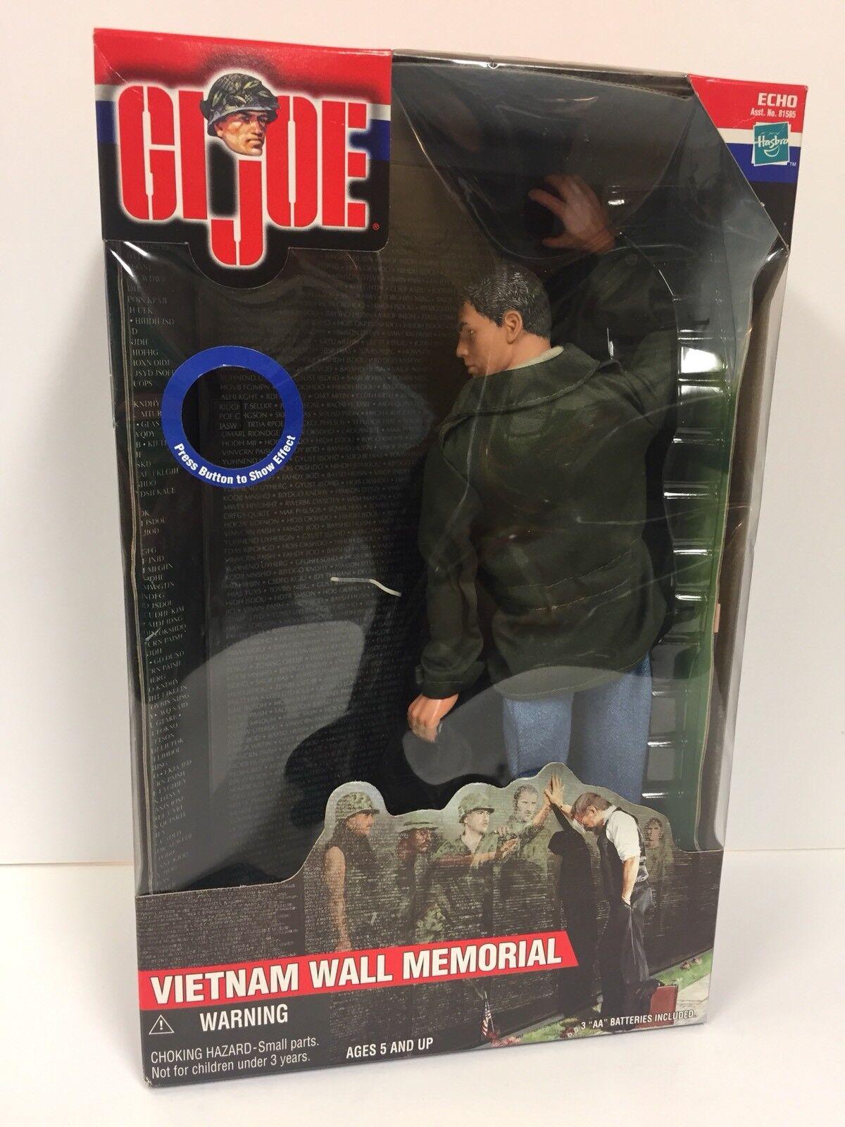 2000 Hasbro 12  GI JOE Vietnam Wall Memorial Lighted NIP (4GI140)