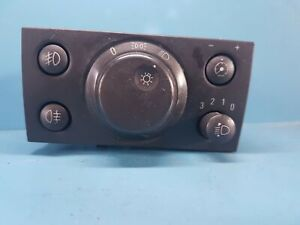 Vauxhall-Opel-Vectra-13230798-Foglight-Headlight-Control-Switch-Unit
