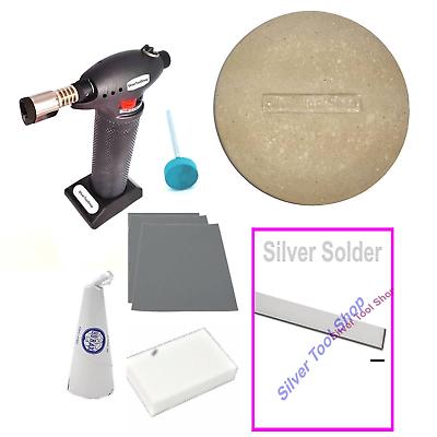 borax cone Solder borax dish Solder Kit Starter Kit soldering jewellery torch