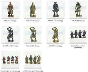 SOLDATINI KINDER METALLFIGUREN FERRERO Japanische Samurai um 1600 Singoli