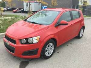 2012 Chevrolet Sonic 1LS 5-Door