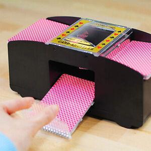 Auto-Kartenmischgeraet-Kartenmischmaschine-Poker-2-Decks-Kartenmischer-Maschine