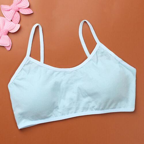 Puberty Girls Training Bras Sports Vest Breathable Underwear Student Bra Casual