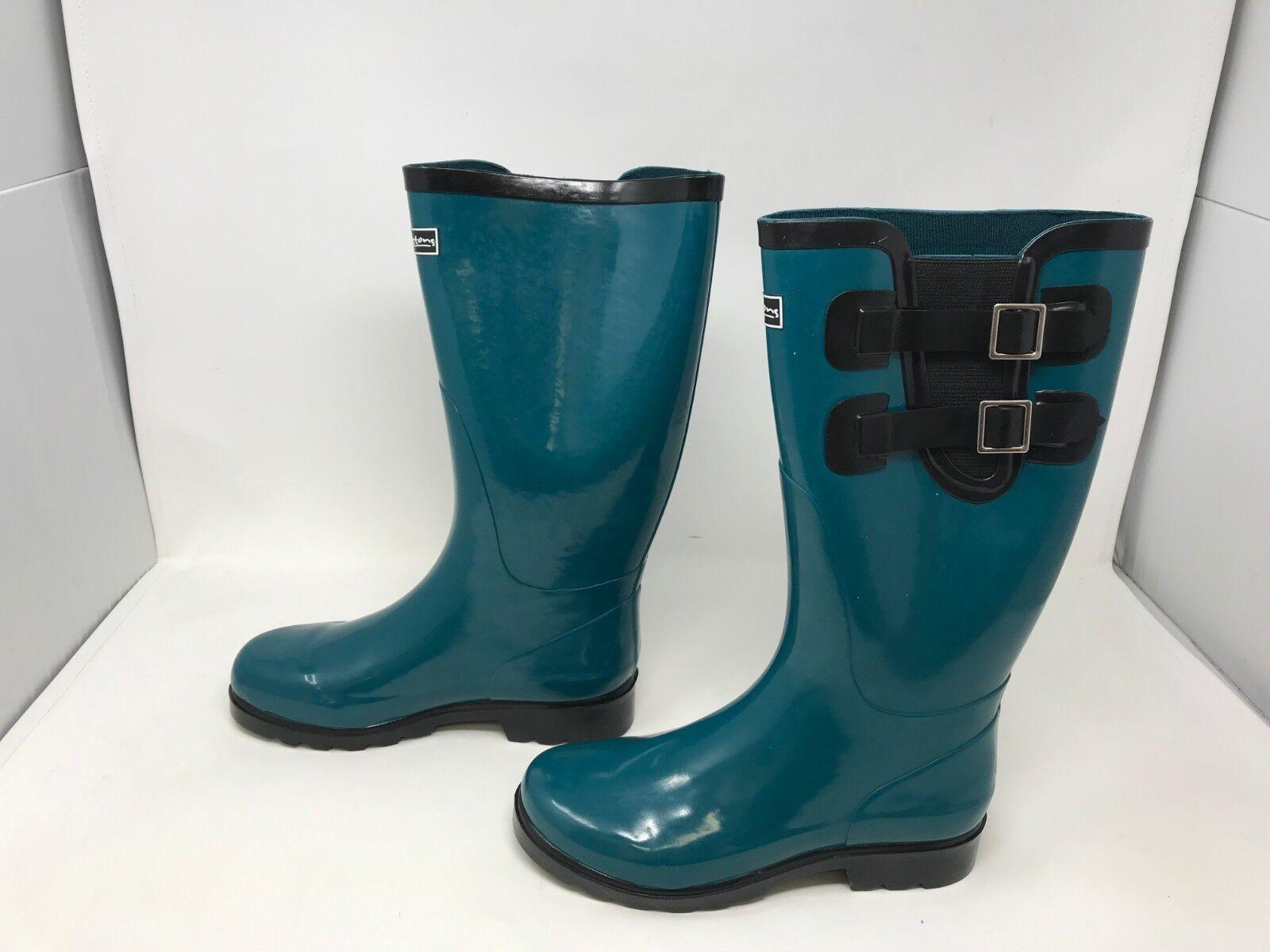 Womens Puddletons (PCM101) Classic Double Strap Rain Boots (z9)