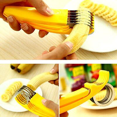 Kitchen Tools Banana Slicer Gadgets Strawberry Stem Remover Egg Cutter